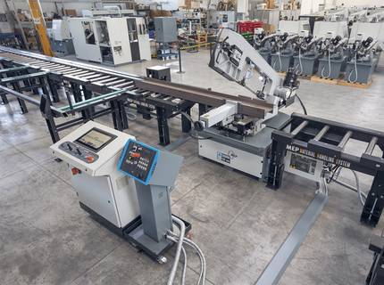 What to do first when chaos starts reigning over your workshop? | © MEP S.p.A. - Circular and band sawing machines to cut metals