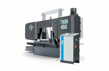 THOR 450 | © MEP S.p.A. - Circular and band sawing machines to cut metals
