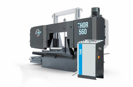 THOR 560 | © MEP S.p.A. - Circular and band sawing machines to cut metals