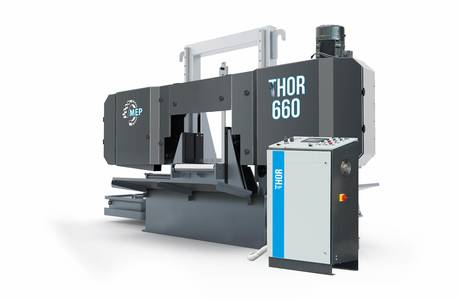 THOR 660 | © MEP S.p.A. - Circular and band sawing machines to cut metals
