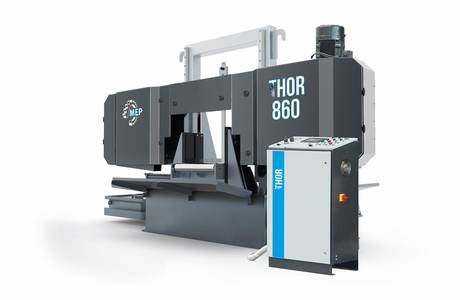 THOR 860 | © MEP S.p.A. - Circular and band sawing machines to cut metals