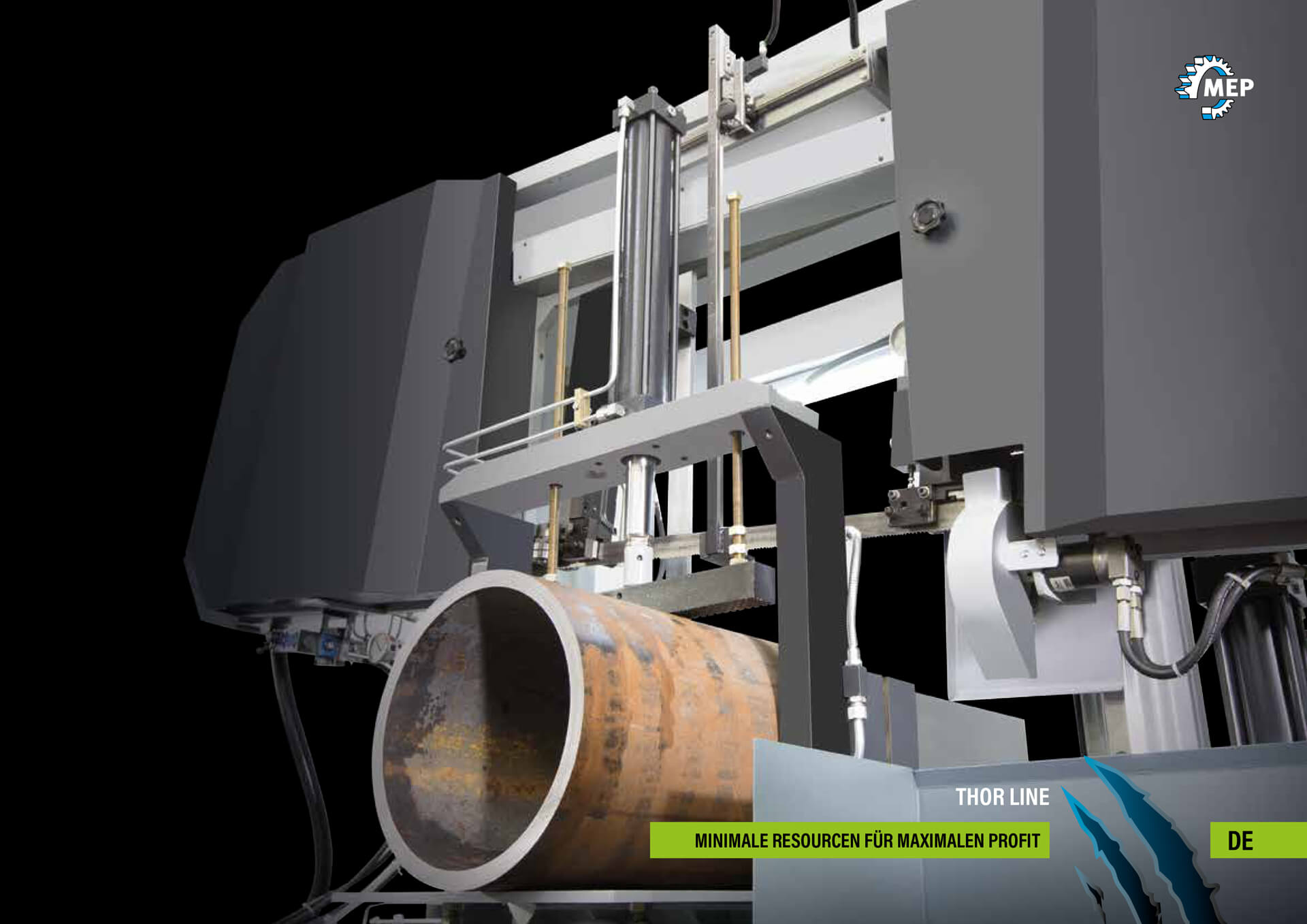 Catalogue THOR 2018 of Mep Segatrici | © MEP S.p.A. - Circular and band sawing machines to cut metals